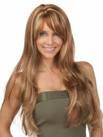 Sepia Carmen Synthetic Wig • Sepia