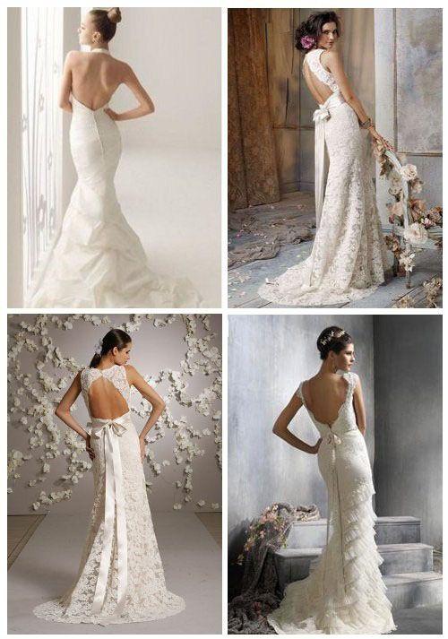 Rochiile de mireasa cu spatele gol castiga tot mai mult teren in randul femeilor care isi doresc ca in ziua nuntii sa fie atragatoare, senzu...