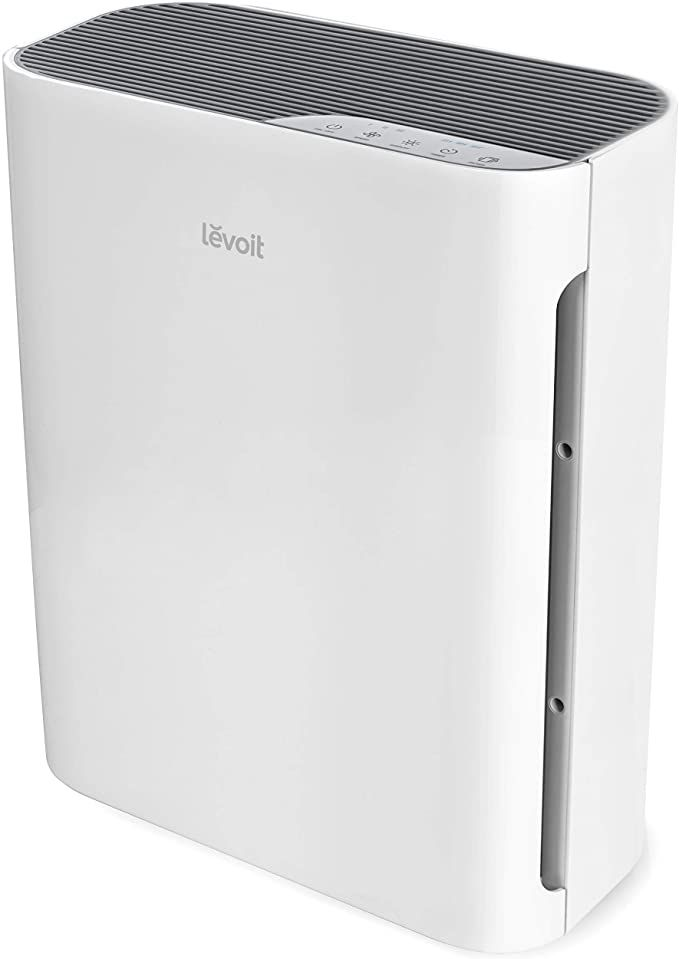 Amazon Com Levoit Air Purifier For Home With True Hepa Filter Cleaner For Allergies And Pets Smokers In 2020 Air Purifier Odor Eliminators Hepa Filter Air Purifier