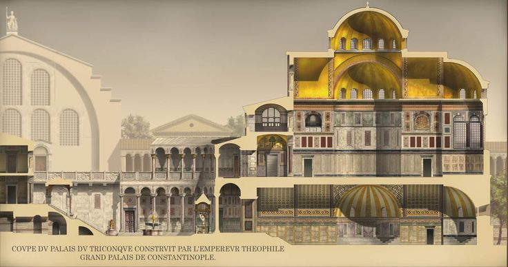 55 best byzantine architecture images on pinterest for Architecture byzantine