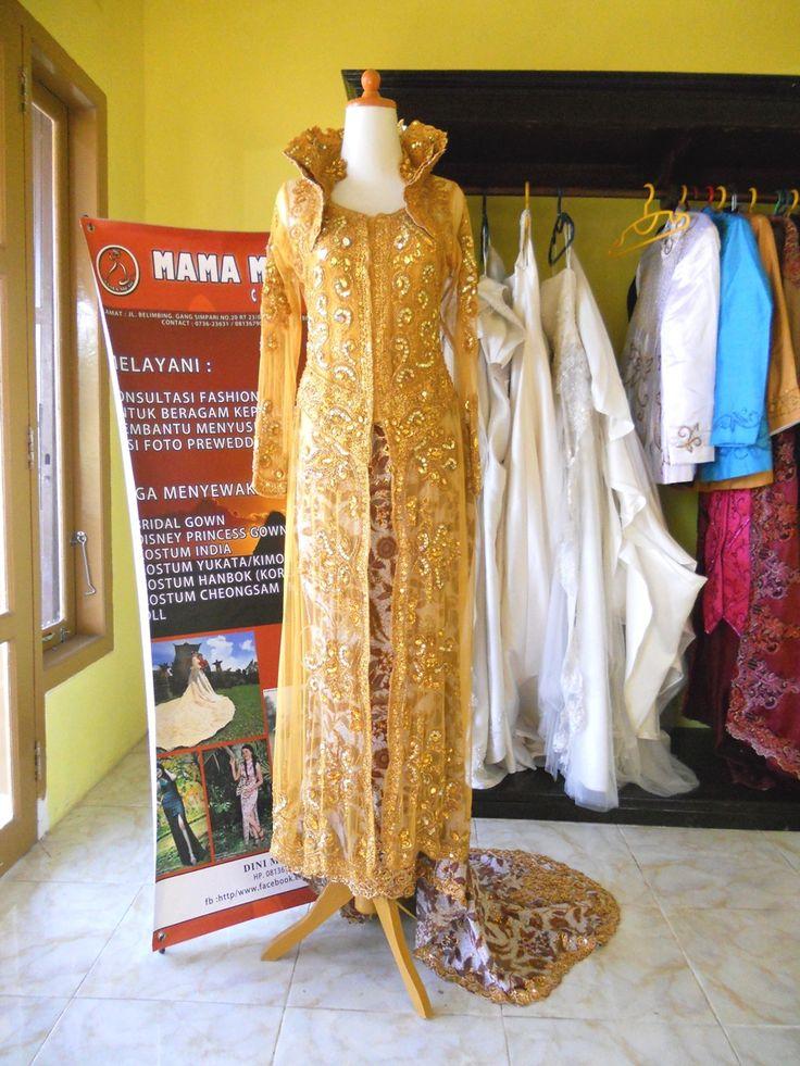 Kebaya Safir Kuning by Mama Meme Costume