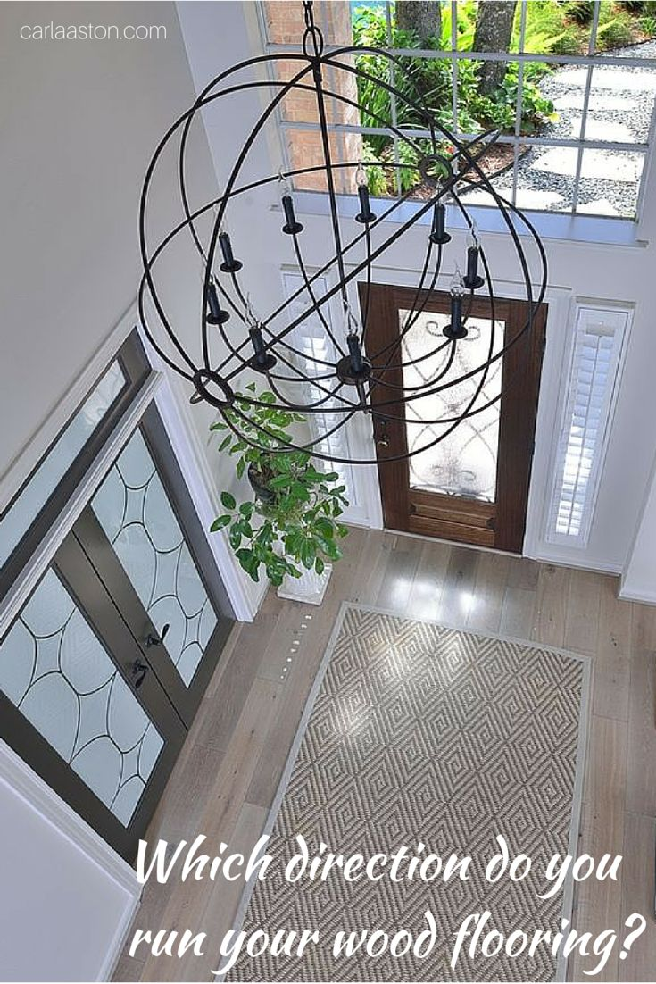 94 best floors hardwoodlimestone images on pinterest flooring article which way should you run your wood floor image designer carla dailygadgetfo Images