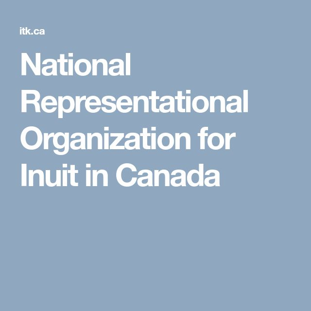 National Representational Organization for Inuit in Canada