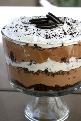 Baker Homemaker: Oreo Brownie Trifle @RenaeSlobe i have hopes for next time i come ova :D