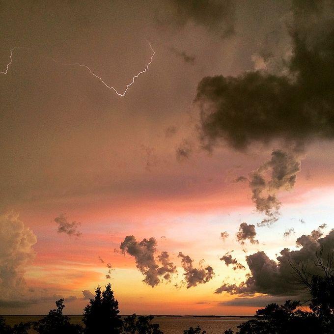 Stormy Sunset by Sherrilynn - ViewBug.com