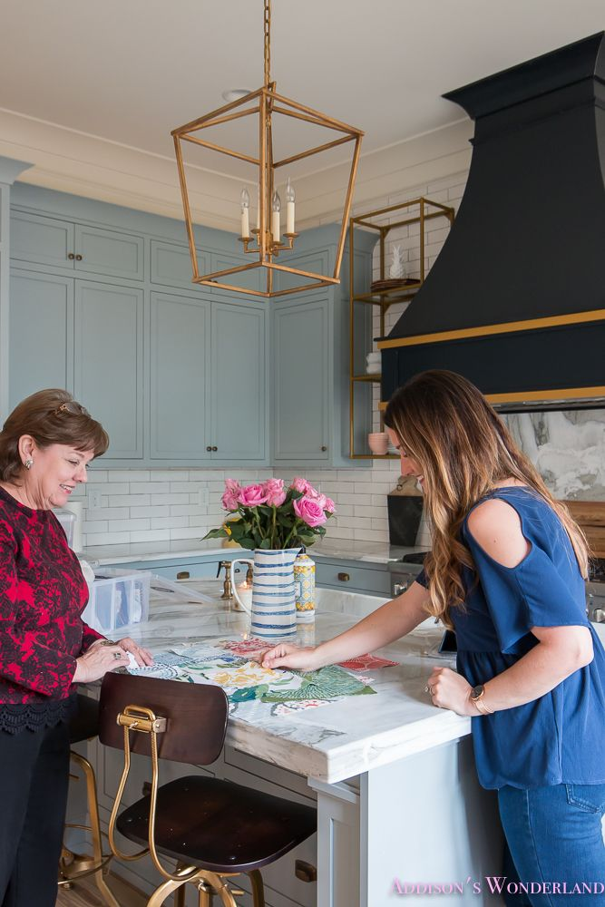 Selecting Custom Shades with Smith & Noble - Addison's Wonderland Selecting custom roman shades with @smithandnoble's in-home-designer! #sponsored