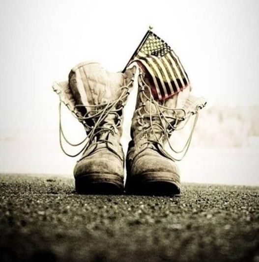 US Army combat boots
