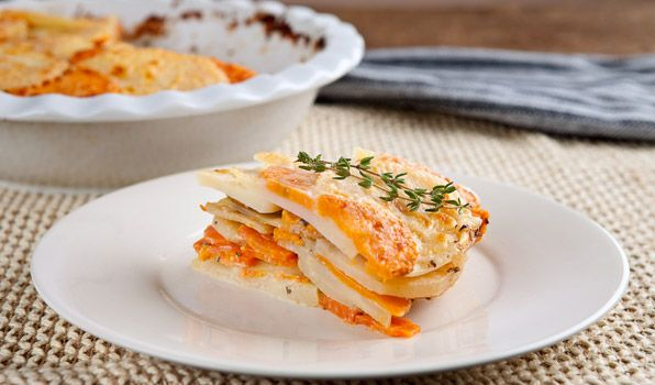 Decadent Potato and Vegetable Gratin