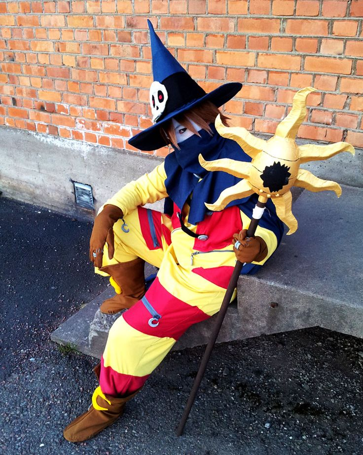Wizardmon from Digimon  Cosplayed by Mayuen Photographed by ? Source: Mayuen.deviantart.com on @deviantART
