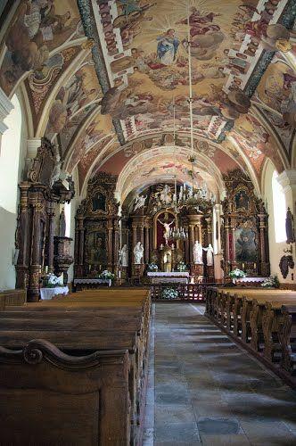 Kościół Zwiastowania Pańskiego- wnętrze Wieluń