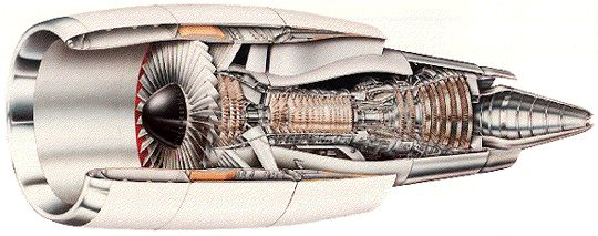 Figure 8c - General Electric CF6 turbofan