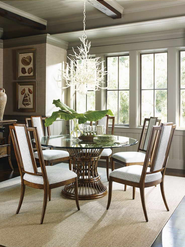 110 Best Tropical Style Images On Pinterest  Furniture Tropical Cool Tropical Dining Room Chairs Decorating Design