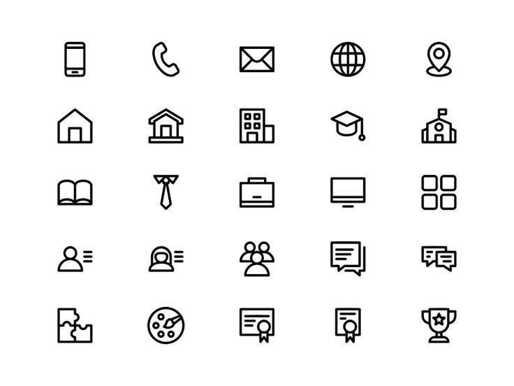 20+ Resume icon pack png inspirations