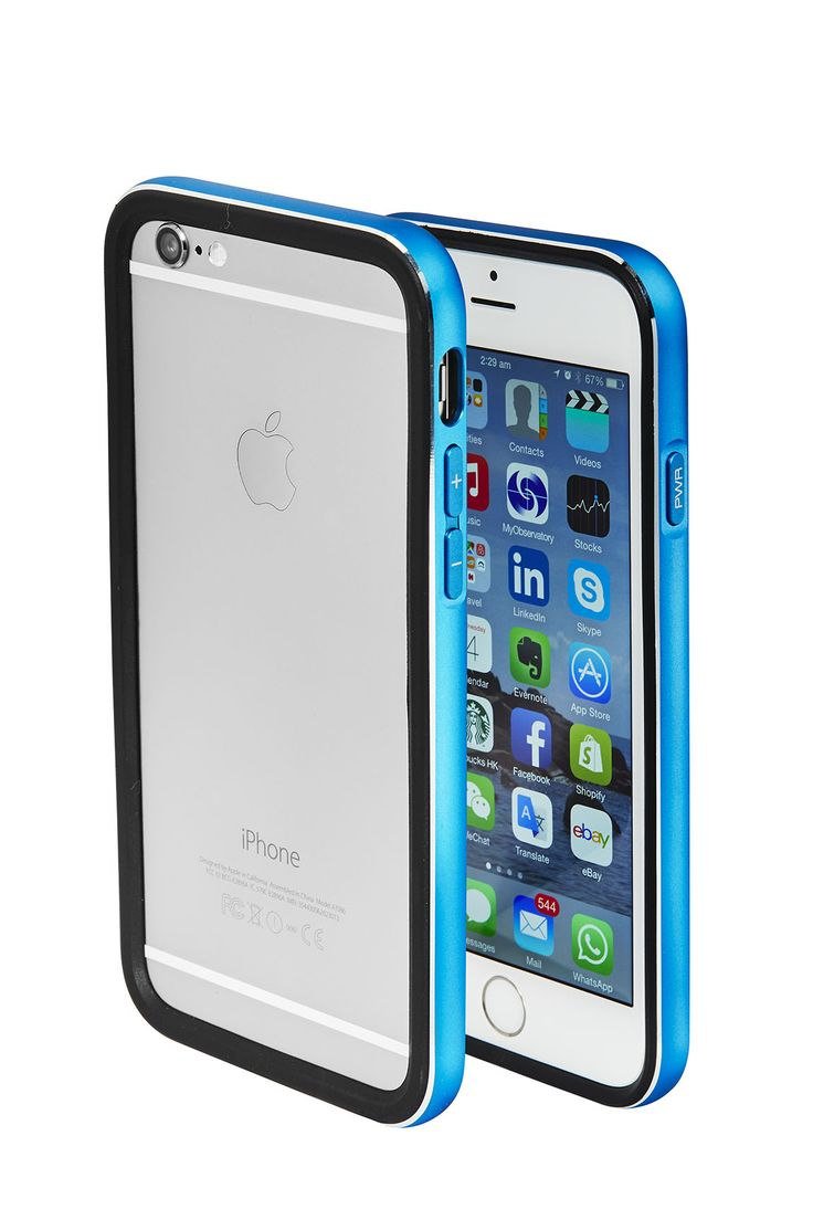 Cover iPhone 6  blue by Skycover2015 only on http://www.ebay.it/usr/skycover2015