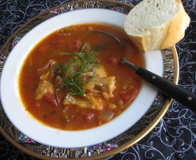 1000 images about foods of tunisia on pinterest for Spicy fish soup