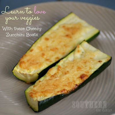 Cheesy Zucchini Boats - Healthy, Gluten Free, Low Carb, Low Fat Snack