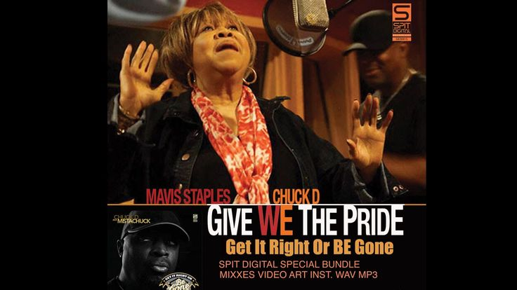 Chuck D - Give We The Pride ft. Mavis Staples (Official Video) #ChuckD #GameHawkTheApp @MrChuckD #HipHop