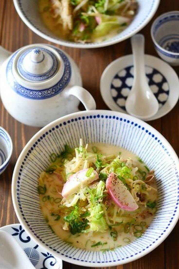 長崎ちゃんぽん風食べる野菜スープ  by 鈴木美鈴 / 野菜のうま味と甘みが溶けだした、味わい深い濃厚スープ。野菜も1人辺り260g摂取できます。  / Nadia