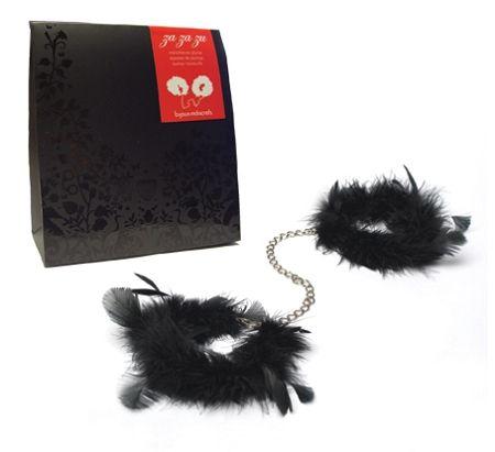 Bijoux Indiscrets - Za Za Zu Feather Wrist Cuff Chain