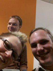 8. Webmontag Marburg: Marc Nemitz , Christina Lauer und Tobias Müllerleile