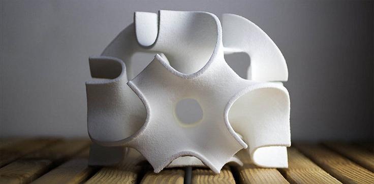Complex 3D Printed Sculptures You Can Eat 3d