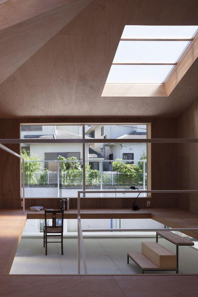 *주택 내 공공산책로에 대한 새로운 솔루션-[ Tato Architects ] House in Kawanishi :: 5osA: [오사]