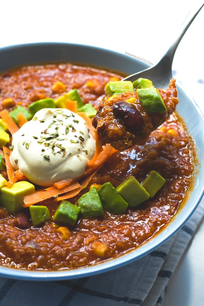 Best 25+ Quinoa chili ideas on Pinterest | Quinoa chilli ...