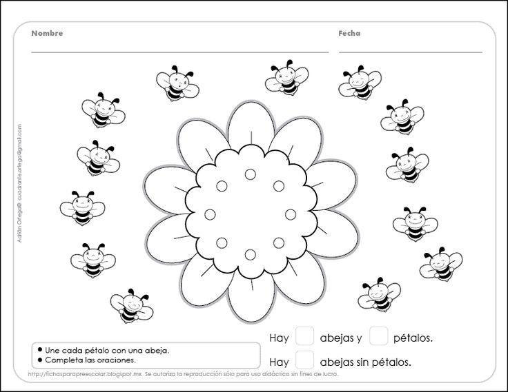 17 best images about fichas procesos matem ticos for Actividades para jardin de infantes para imprimir