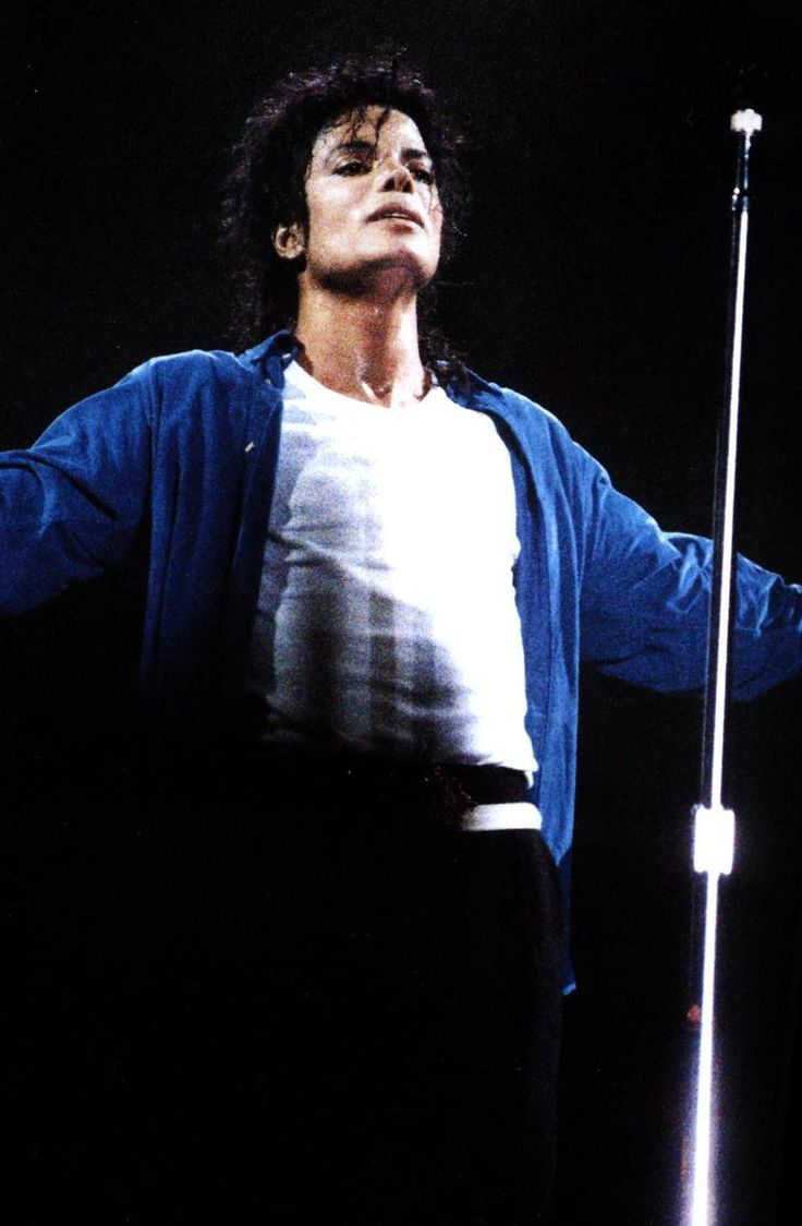 Michael Jackson BAD tour                              …