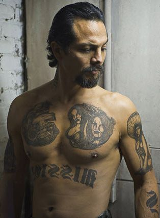 Benjamin Bratt in....The Mission    he is just hotttttttttttt