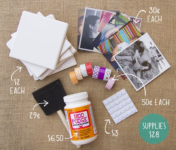 How to make photo coasters.. going to do this for Leighton and I :) make them with pictures of us, or families, and friends!