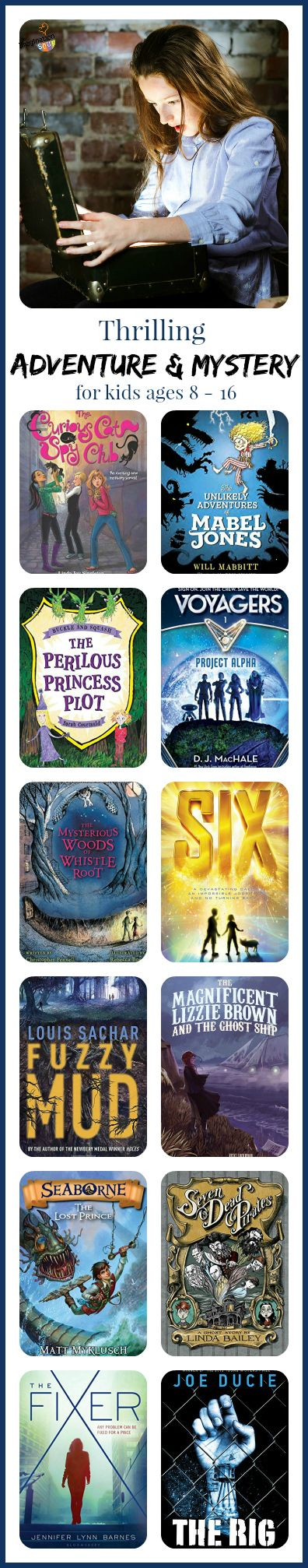 thrilling new adventure and mystery chapter book recommendations for kids
