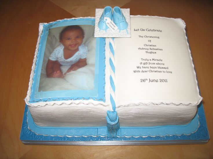 Christening Cake Book Design : 21 best images about Special Occassion Cakes on Pinterest ...