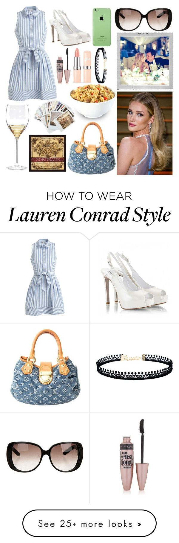 """""""Angela// book character"""" by frerardforever on Polyvore featuring Whiteley, Milly, Fratelli Karida, Maybelline, Chronicle Books, Louis Vuitton, LULUS, Gucci, Polaroid and Lauren Conrad"""