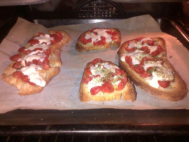 pizza di pane #naples #style