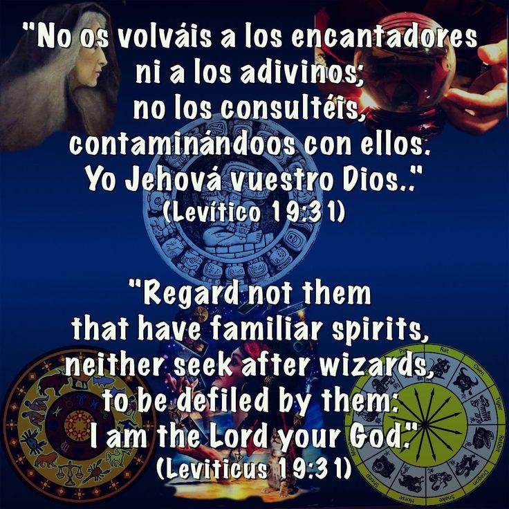 Levítico 19:31 /// Leviticus 19:31