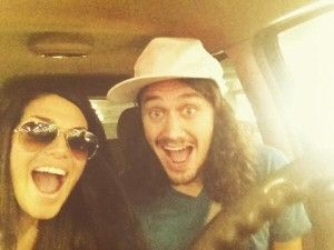 Together again! Amanda and McCrae