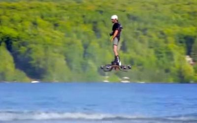 Insanely cool homemade Hoverboard, enters in Guinness World Record