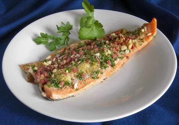 Filete de Trucha al Horno