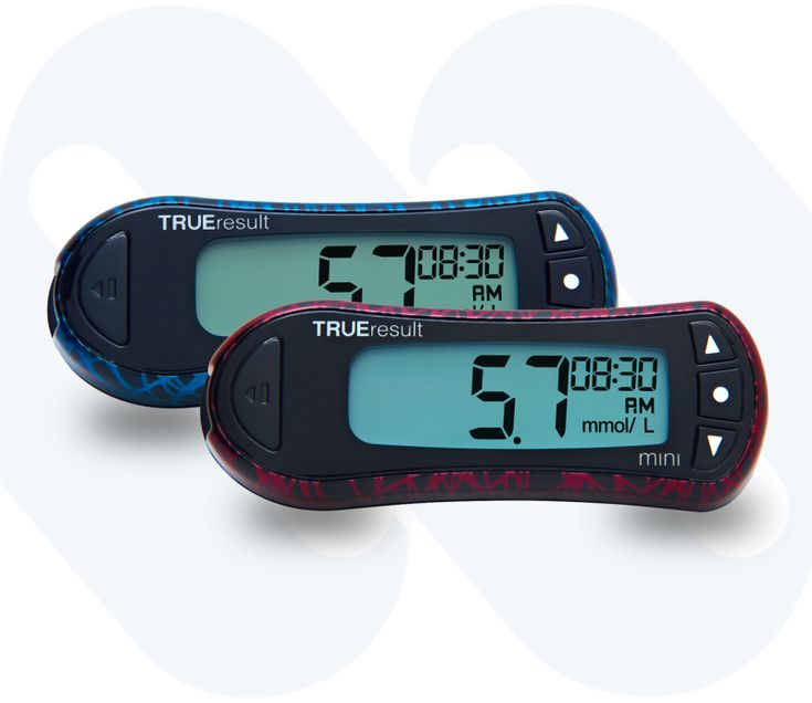 TRUEresult Mini is simple, effective and advanced blood glucose testing on a micro-scale. The TRUEresult Mini's ergonomic design guarantees light, pocket sized blood glucose monitoring convenience for all.