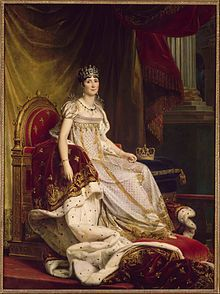 L'impératrice Joséphine par François Gérard.