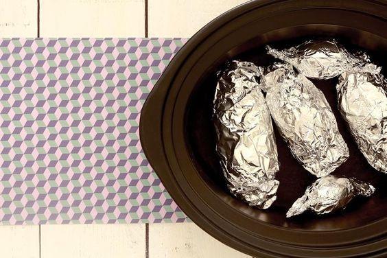 Ensalada de patatas a lo pobre. Receta para Crock Pot