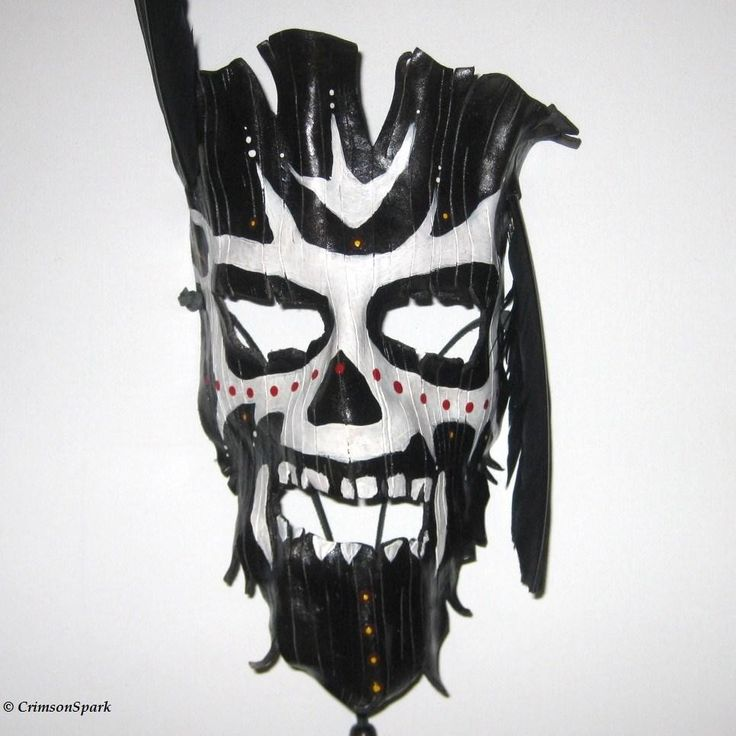 Voodoo Witch Doctor Mask