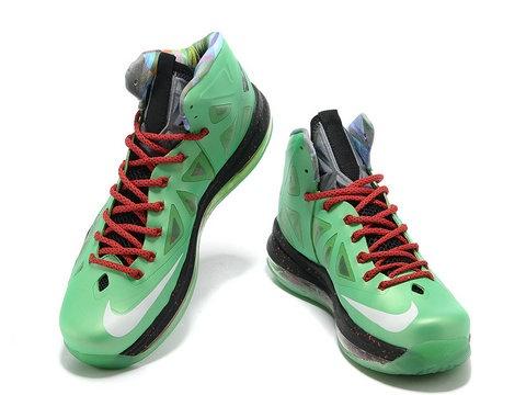 Nike LeBron 10 Cutting Jade JR Jade China ,Style code:541100-300,