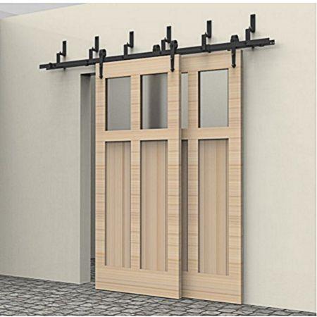 25 best ideas about exterior barn doors on pinterest rustic barn doors contemporary basement for Exterior bypass barn door hardware