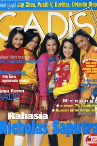 Models: 5 Girls from Ada Apa Dengan Cinta The Movie (AADC). GADIS 8/2002 #GADIS40TH