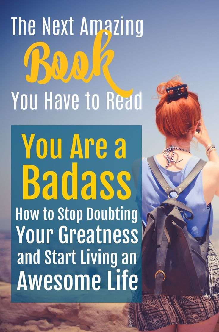 You Are a Badass is one of the best books I've ever read! If you're looking for the best inspirational book, this is it!