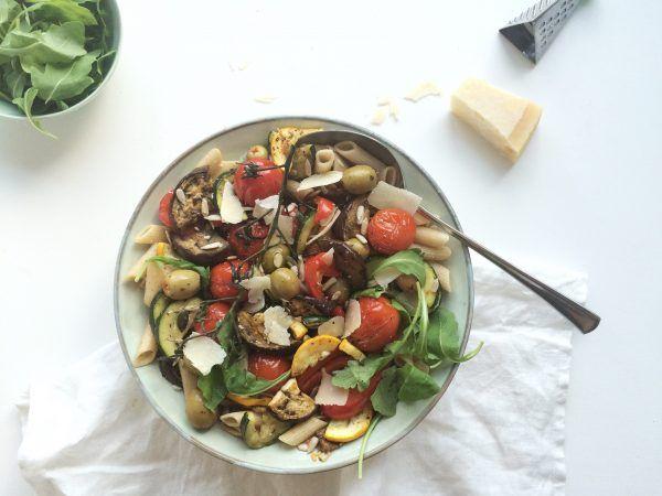 Spelt pastasalade met gegrilde groenten – Feelgoodbyfood