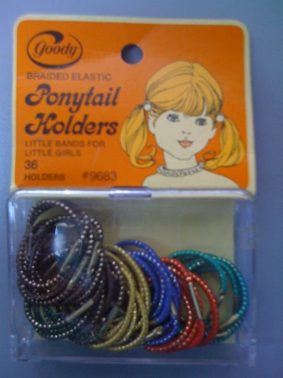 Old school hair bands with that damn metal piece that would rip the hair from your scalp
