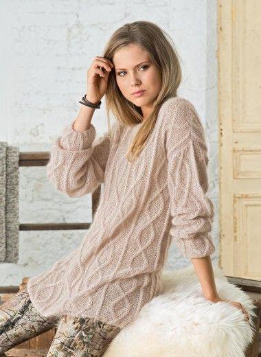 Mag. 169 - #20 - Long sweater | Buy, yarn, buy yarn online, online, wool, knitting, crochet | Buy Online